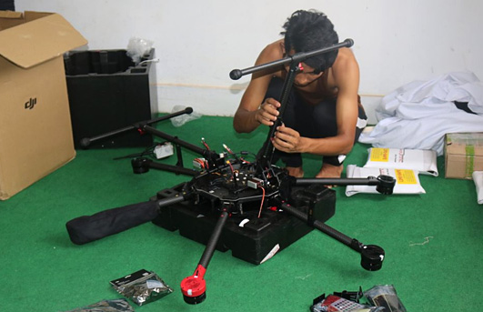 From Bollywood to Cargo Drone Pilot: The Journey from Semjong